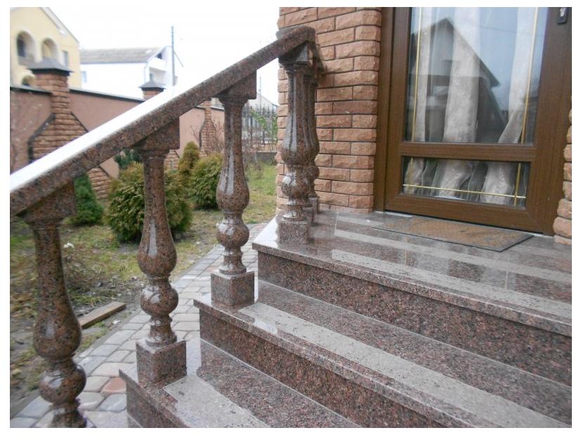 Лестницы и ступени из гранита - 10