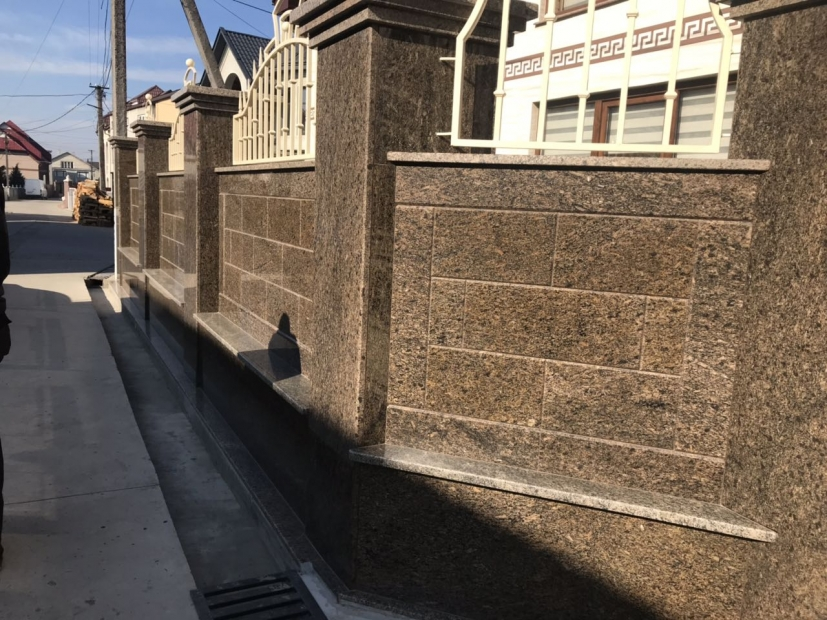 Фасады из гранита - 3