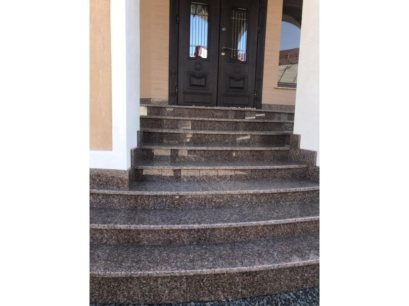Лестницы и ступени из гранита - 5